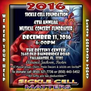 Sickle Cell Foundation 4th Annual Concert