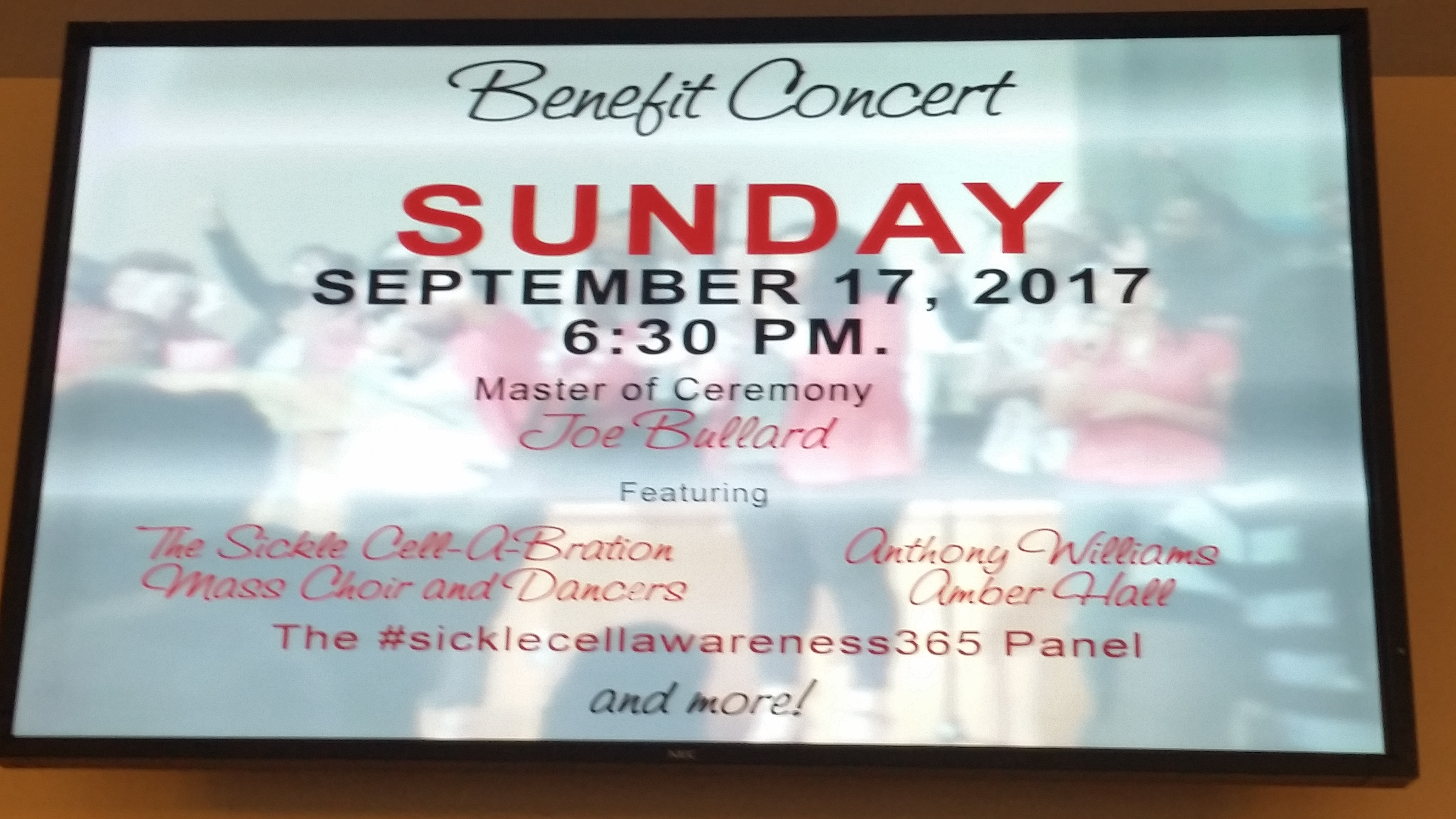 2017 Sickle Cell Awareness Month Festivites Sickle Cell